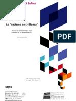 Les Français et le « racisme anti-Blancs » évoqué par Jean-François Copé