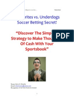 Rich Soccer Betting System