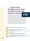 Using Portfolio Management to Align Projects and Manage Business Applications_final