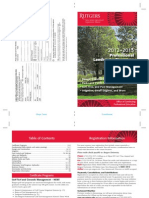 Landscape Management Courses and Certificates at Rutgers – 2012-2013