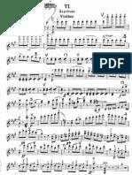 Sarasate. Zapateado. for Violin