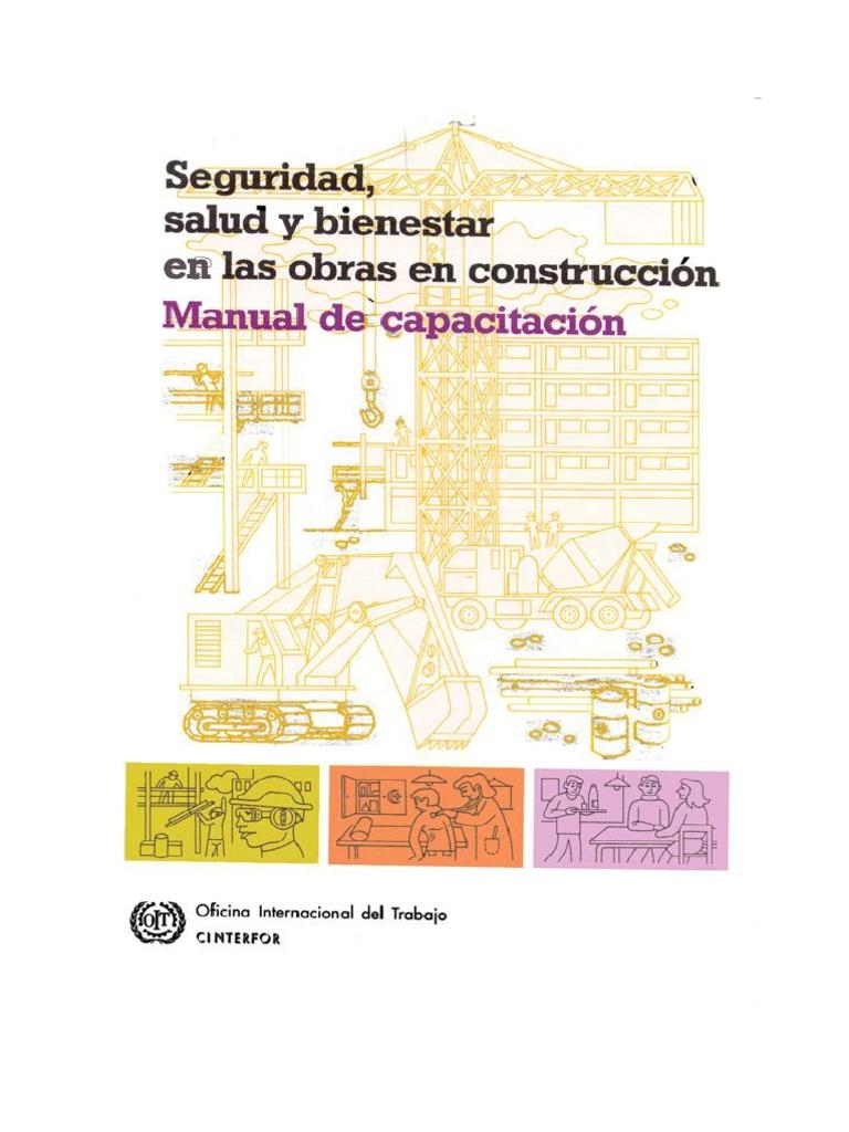 Manual de Seguridad, Salud e Higiene en Obras de Construccion