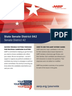 AARP Survey Results for Illinois 42nd State Senate District 2012