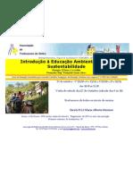 """Cartaz Formação """"Introdução à Educação Ambiental para a  Sustentabilidade"""""""