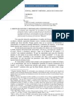 DERECHO CONSTITUCIONAL OBJETO Y MÉTODO