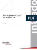 PSAP Operations Guide for Wireless 9-1-1