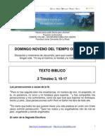 Lectio Divina Sobre San Pablo Apostol - 2 Timoteo