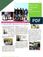 Boletín Liderazgo SAM septiembre 2012