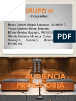 Diapositivas audiencia probatoria