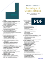 Sociology of Organizations - Information