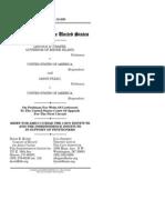 Chafee v. United States and Pleau v. United States, Cato Legal Briefs