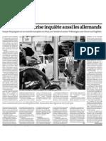 20120927 LeMonde Alemania Crisis Automovil