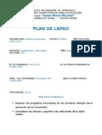Planificacion Historia Universal 1er. Lapso 2011-2012 Micaela