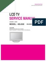 LG LA85D 42LG30 Service Manual