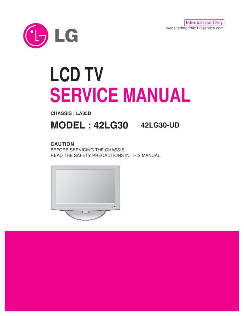 42LG30 MANUAL PDF