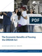 The Economic Benefits of Passing the DREAM Act