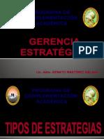 Tipos de Estrategias
