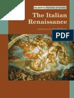 Harold Bloom the Italian Renaissance