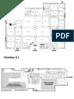 Mapa výstavy Autosalon Paríž 2012