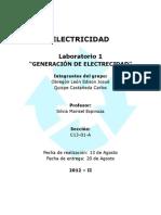 Generación de electricidad