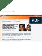 Fars News Agency Copy of Onion Report