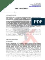 A CONFISSÃO DE AUGSBURGO