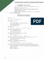 Reasoning Number Analogy