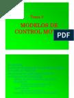 Tema 3 Modelos de Control Motor