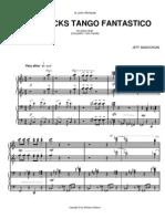 JEFF MANOOKIAN - Chopstick Tango Fantastico - for piano duet