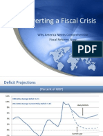Averting a Fiscal Crisis - Why America Needs Comprehensive Fiscal Reform Now 0 0 0 0 0 0 0 0