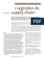 G. C. a. - Os Segredos Da Supply Chain