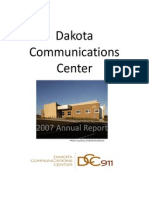 Dakota County, MN  DCC -  Communications Center -  2007 Annual Report Packet