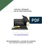 Protocolo, Netiqueta y Normas de Conducta Del Sistema de Videoconferencias