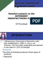 Ultra Marine Chemicals Lmtd