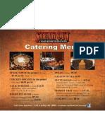 Montgomery Catering Menu