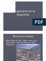 La Ingenieria en La Argentina