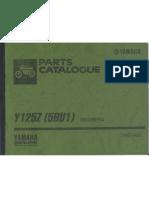 Y125Z Catalog