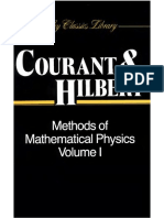 Courant R., Hilbert D. - Methods of Mathematical Physics, Vol 1 -