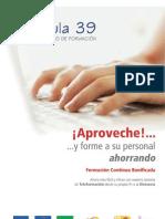 Catálogo de cursos 2013