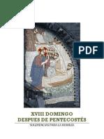 XVIII domingo post pentecostes - sugerencias para la homilía