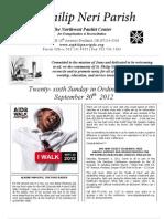 September30th Bulletin