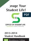 BHC Student Life Calendar Handbook