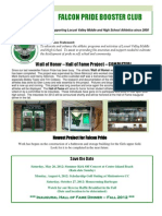 Falcon Pride Newslettervolume 4 Issue 3.16
