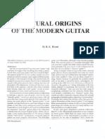 The Cultural Origins Of The Modern Guitar by R.E. Brune