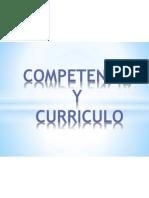 Competencia y Curriculo