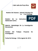 Universidad Del Valle de Poza Rica Proyecto Final de Metodologia3