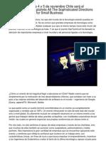 StarTechConf  Este 4 y 5 de noviembre Chile será el epicentro Tech del planeta A Contemporary Key Facts On CRM Software for Small Business.20120928.155013