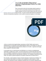 StarTechConf  Este 4 y 5 de noviembre Chile será el epicentro Tech del planeta The Contemporary Recommendations On CRM Software for Small Business.20120928.155024