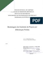 Modelagem do Controle de Poços por Diferenaças Finitas