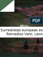 Surrealistas europeas exiliadas en México